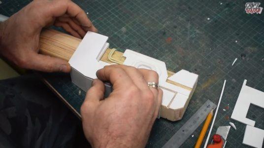 Процесс изготовления винтовки мондалорца шаг 26