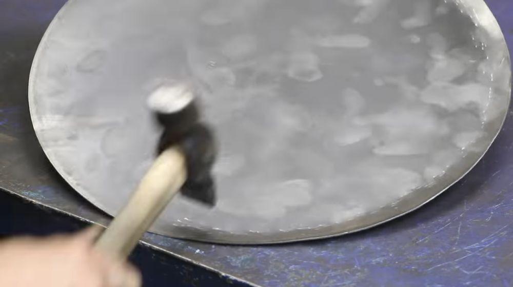 Процесс изготовления мангала гриля шаг 28