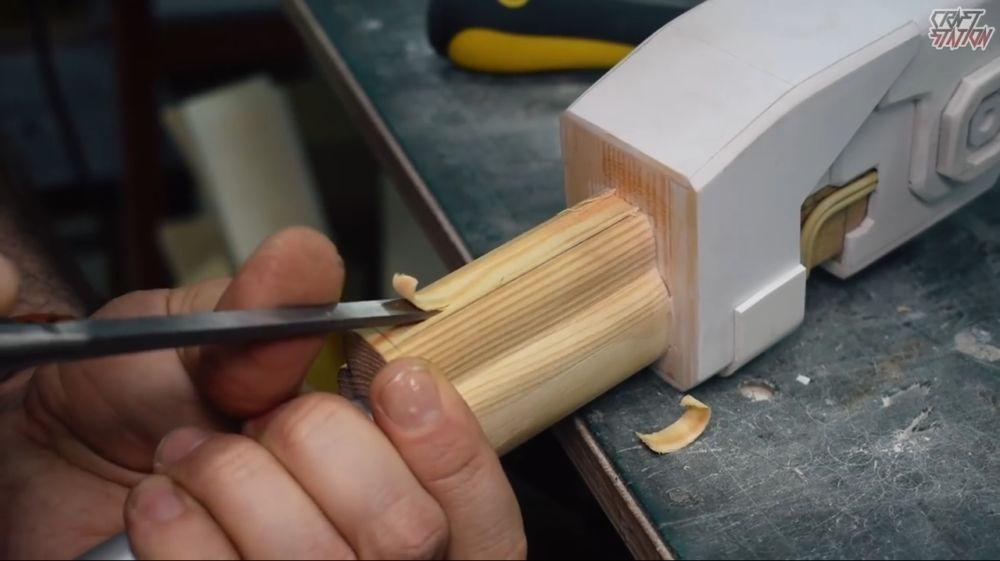 Процесс изготовления винтовки мондалорца шаг 28
