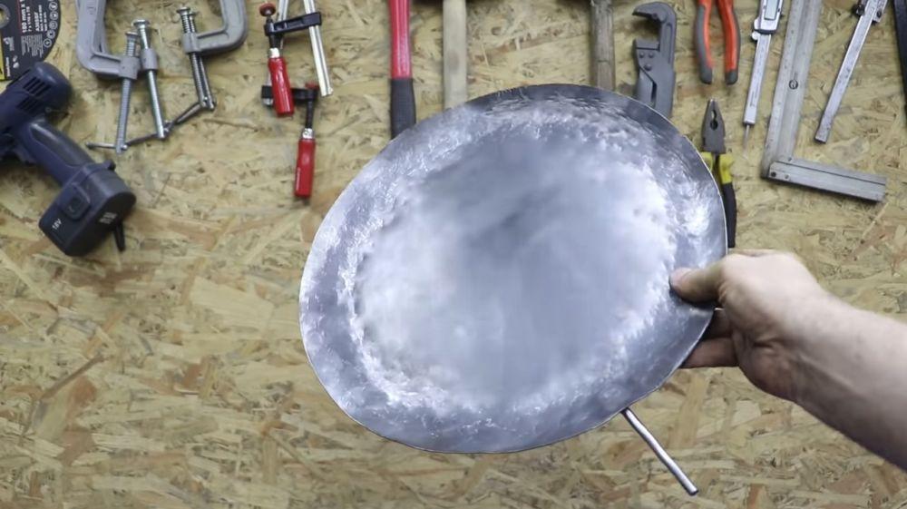 Процесс изготовления мангала гриля шаг 29