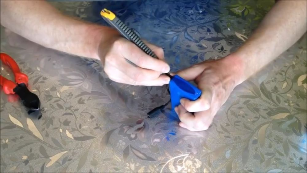 Процесс изготовления подводной камеры шаг 2