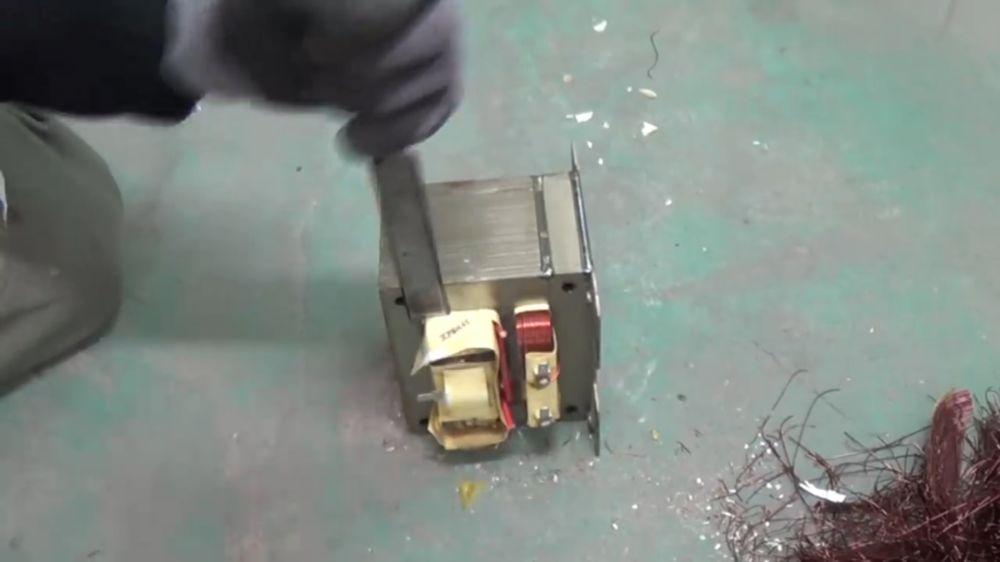 Процесс изготовления точечной сварки шаг 1