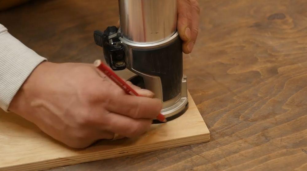 Процесс изготовления насадки для фрезера шаг 3