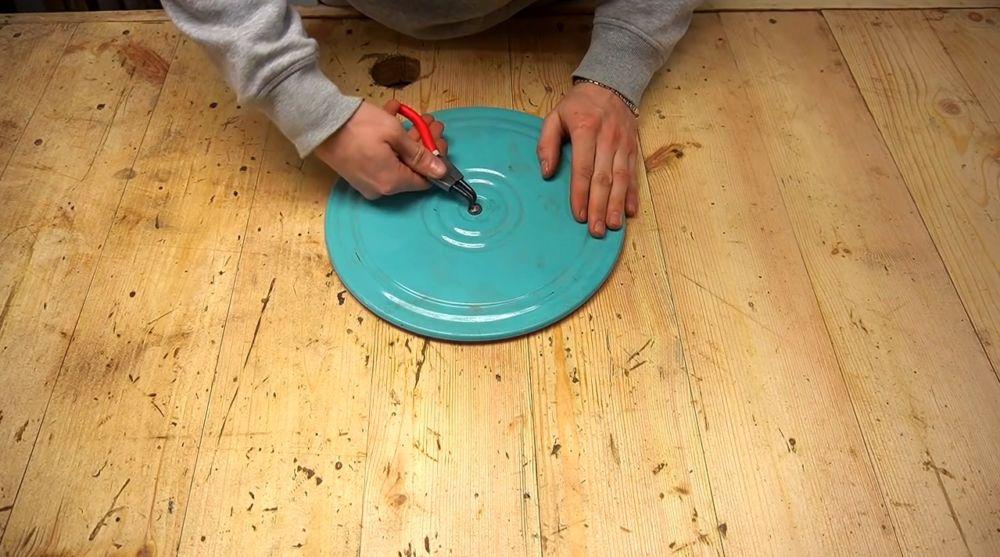 Процесс изготовления ручной бетономешалки шаг 30