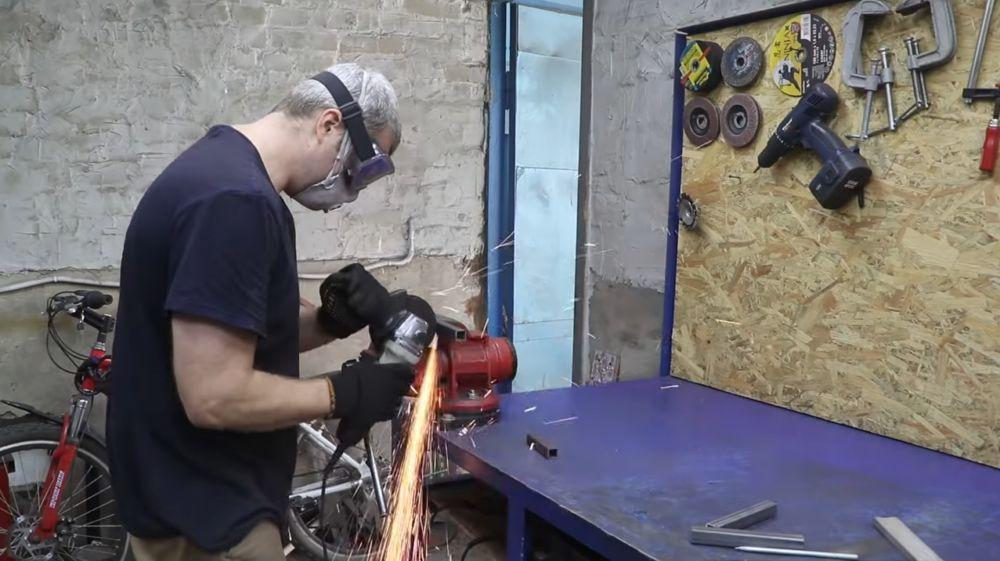 Процесс изготовления мангала гриля шаг 30