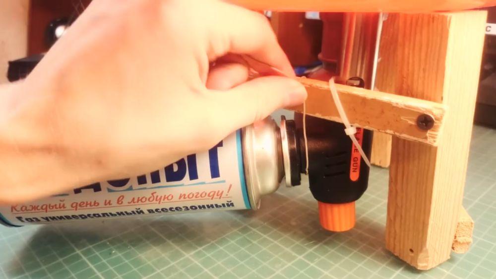 Процесс изготовления аппарата для сладкой ваты шаг 29