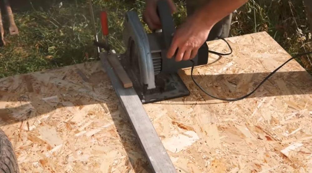 Раскрой OSB-плит на полки