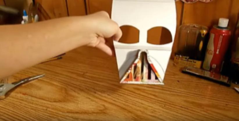 Процесс изготовления шлема дарта вейдера шаг 31