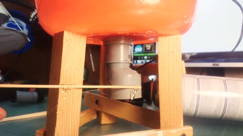 Процесс изготовления аппарата для сладкой ваты шаг 30
