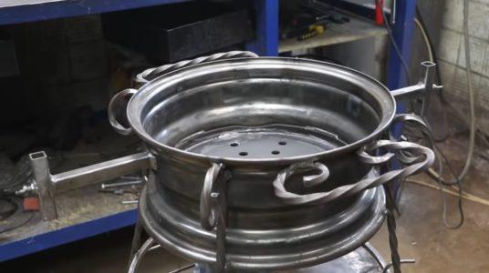 Процесс изготовления мангала гриля шаг 32