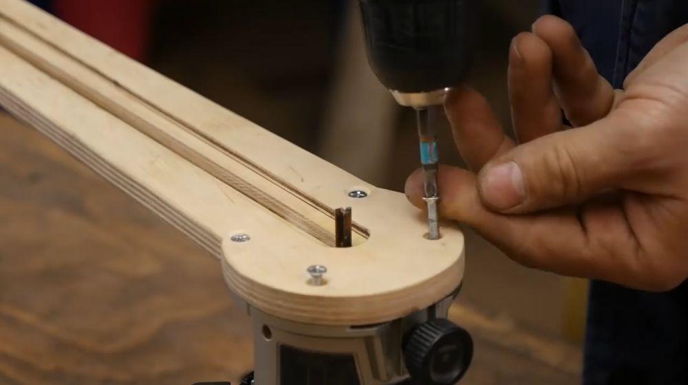 Процесс изготовления насадки для фрезера шаг 32