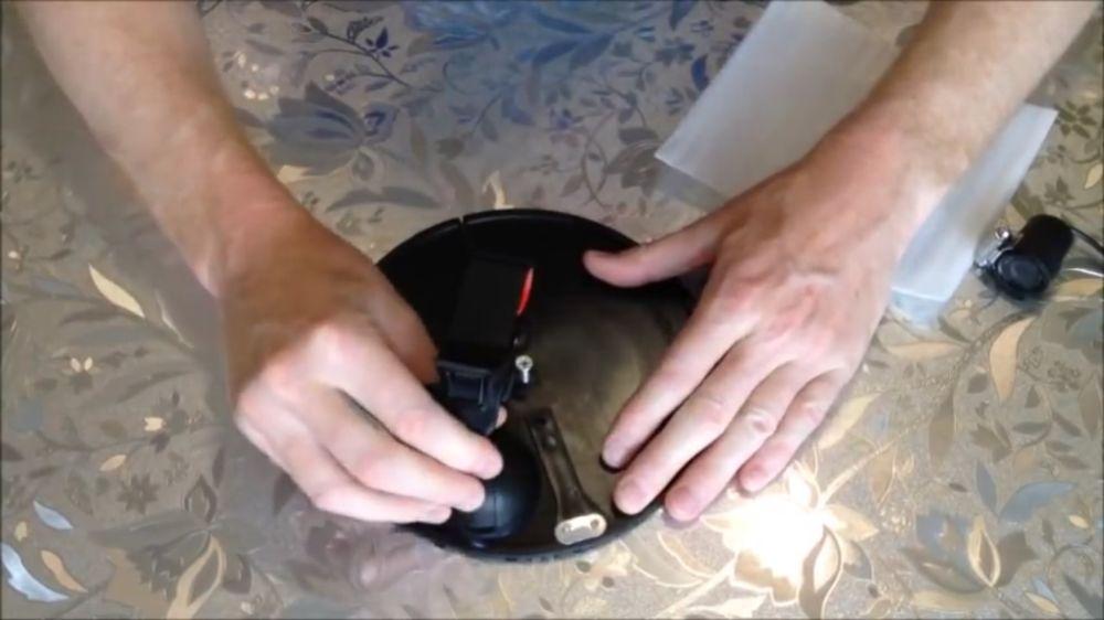 Процесс изготовления подводной камеры шаг 33
