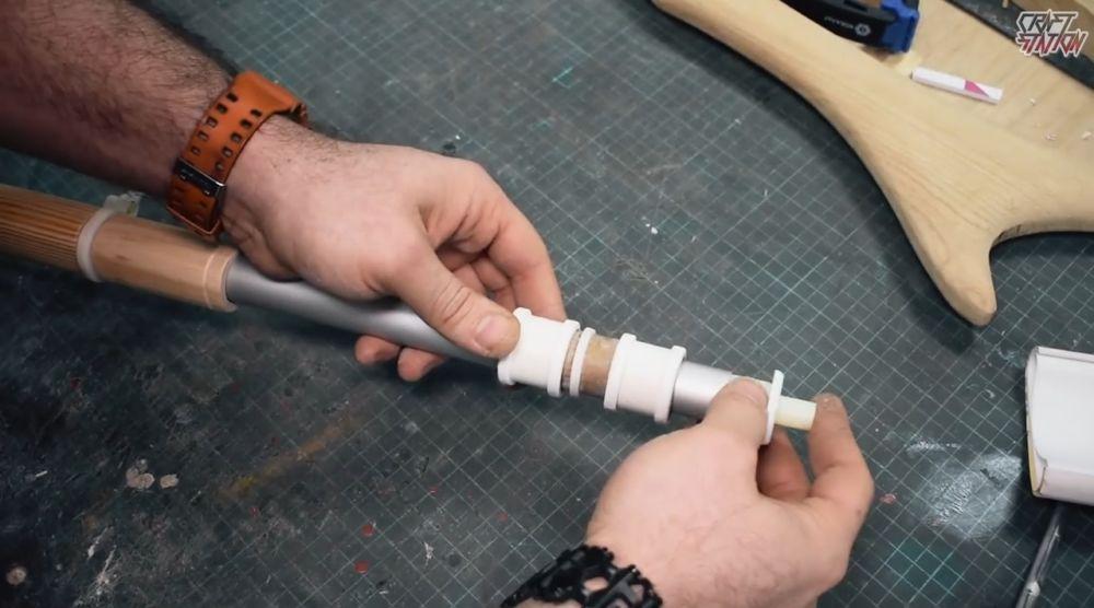 Процесс изготовления винтовки мондалорца шаг 34