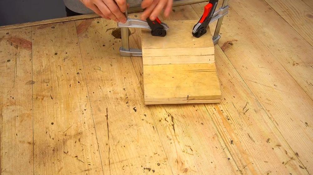 Процесс изготовления ручной бетономешалки шаг 35