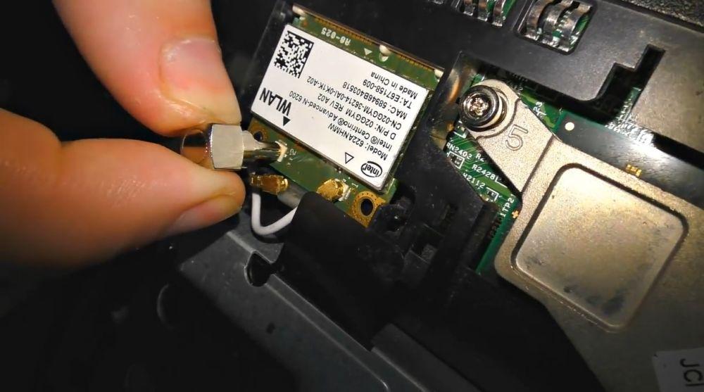 антенну можно подключить напрямую и к ноутбуку