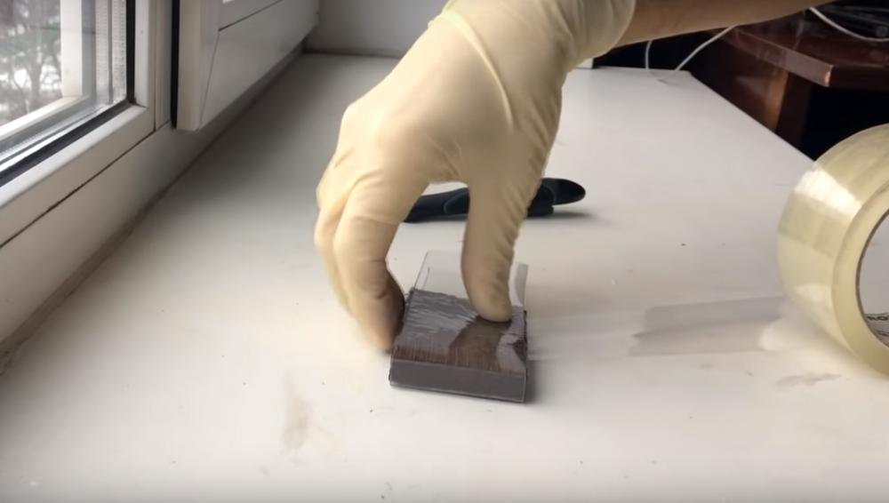 Процесс изготовления сережек из эпоксидной смолы шаг 5