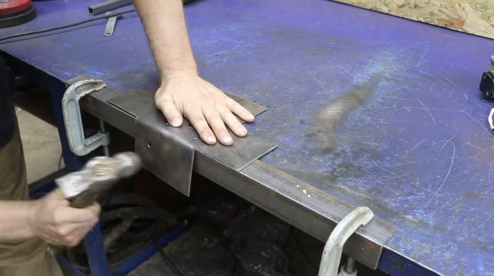 Процесс изготовления мангала гриля шаг 37