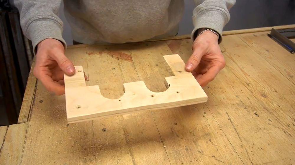 Процесс изготовления ручной бетономешалки шаг 38