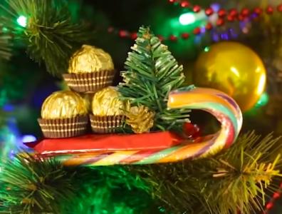 Процесс изготовления декора на новый год шаг 38