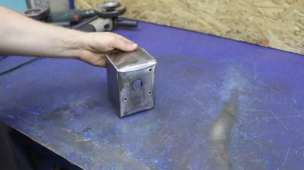 Процесс изготовления мангала гриля шаг 39