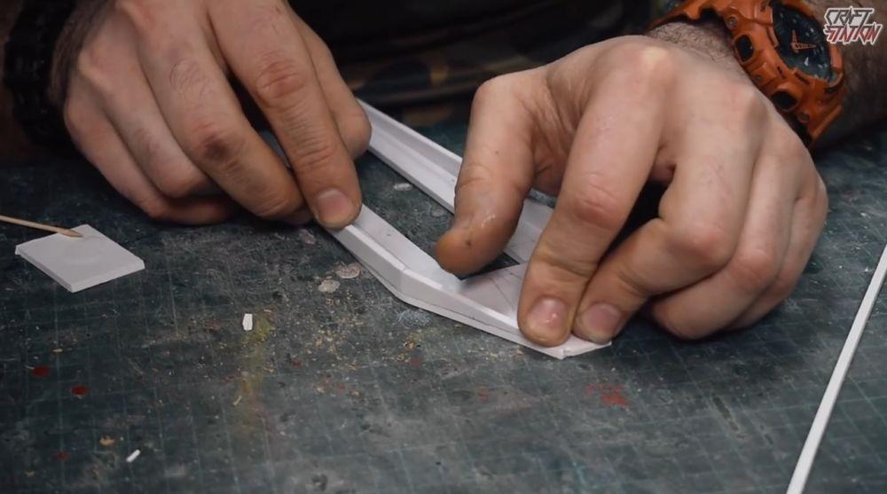 Процесс изготовления винтовки мондалорца шаг 39