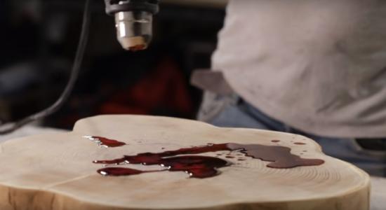 Процесс изготовления люстры лофт шаг 4