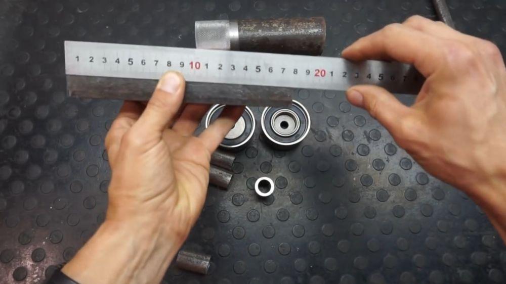 Процесс изготовления прокатного станка шаг 3