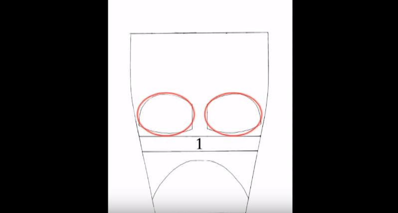 Процесс изготовления шлема дарта вейдера шаг 4
