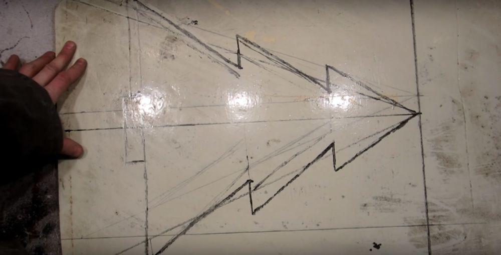Процесс изготовления елки стимпанк шаг 3
