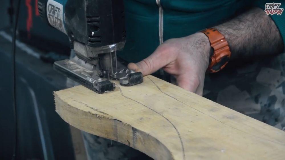 Процесс изготовления винтовки мондалорца шаг 4
