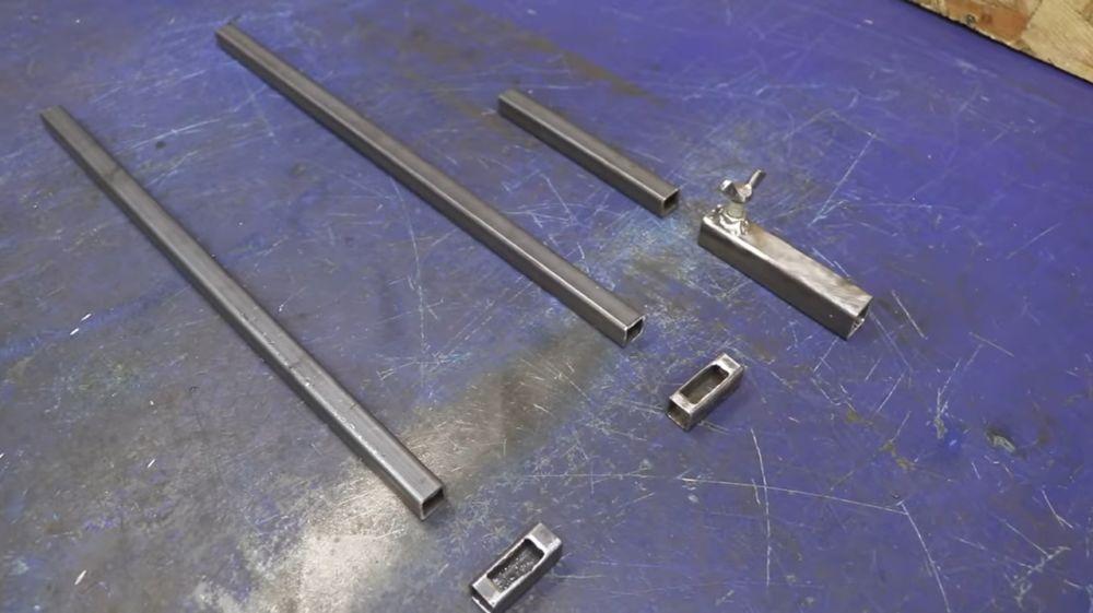 Процесс изготовления мангала гриля шаг 40