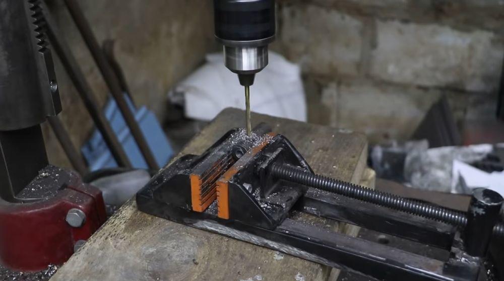 Процесс изготовления мангала гриля шаг 42