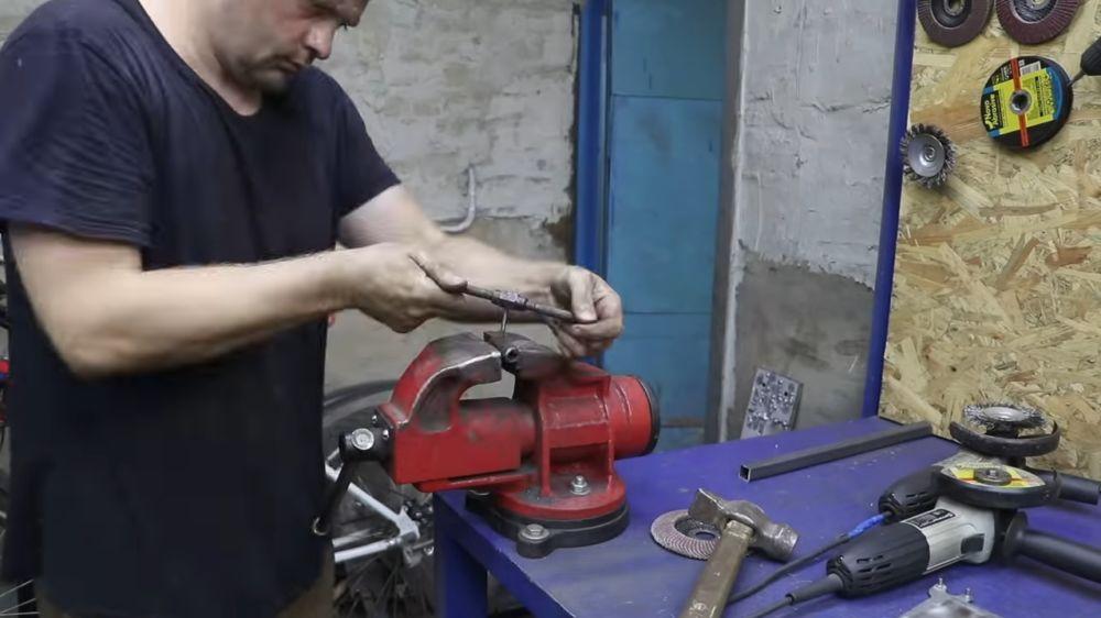 Процесс изготовления мангала гриля шаг 43