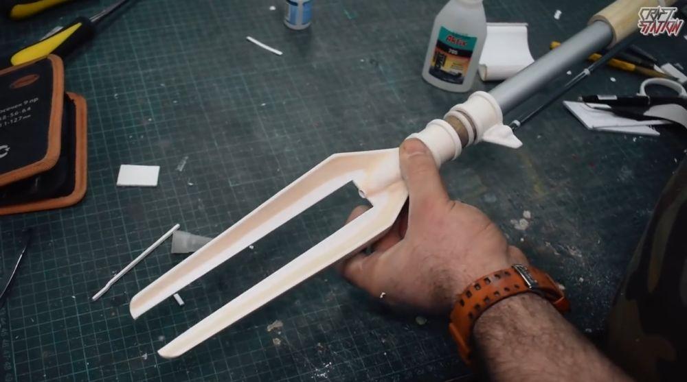 Процесс изготовления винтовки мондалорца шаг 43