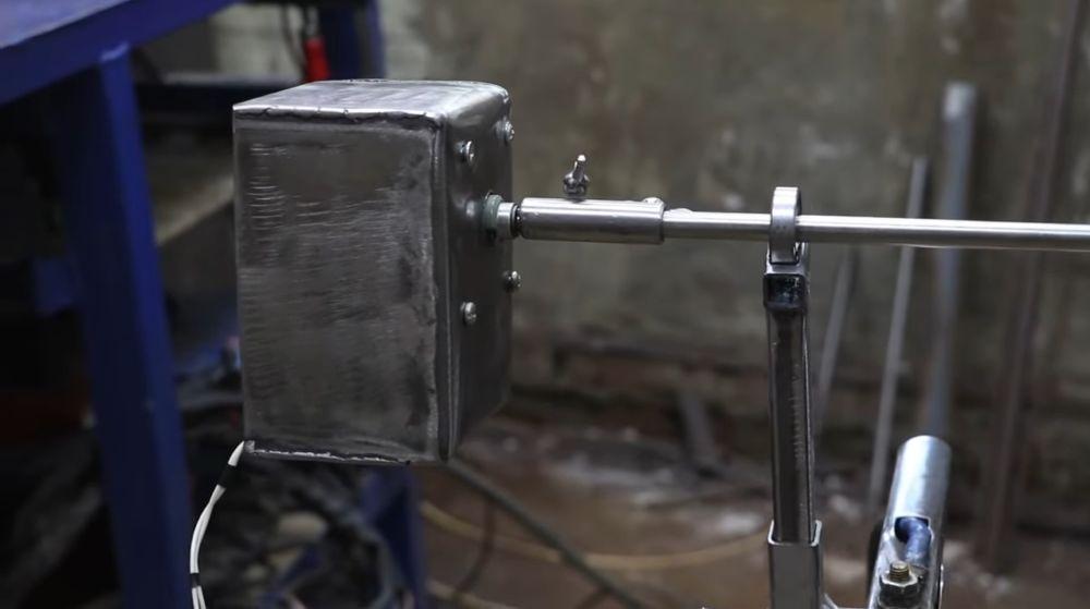 Процесс изготовления мангала гриля шаг 45