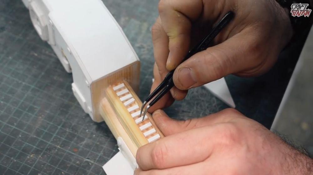 Процесс изготовления винтовки мондалорца шаг 45