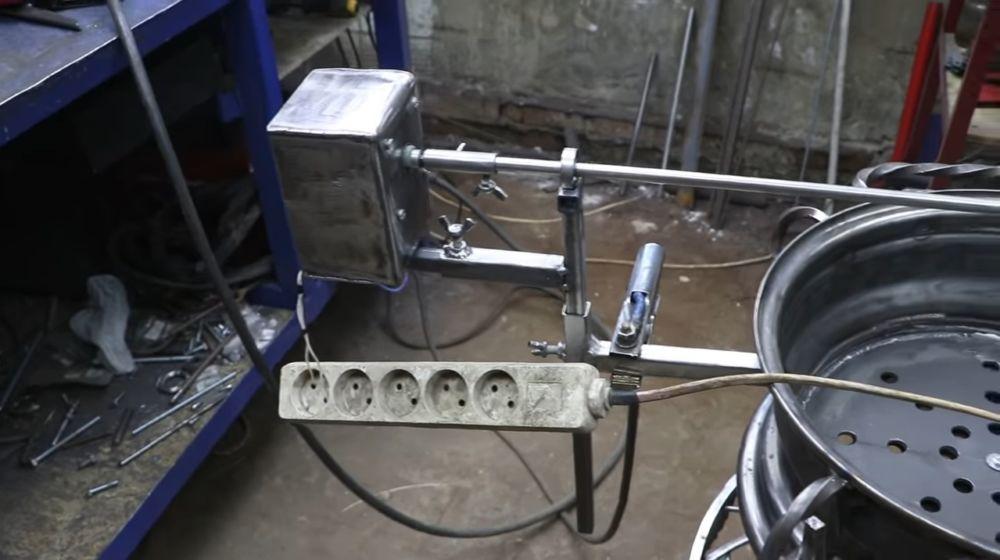 Процесс изготовления мангала гриля шаг 46