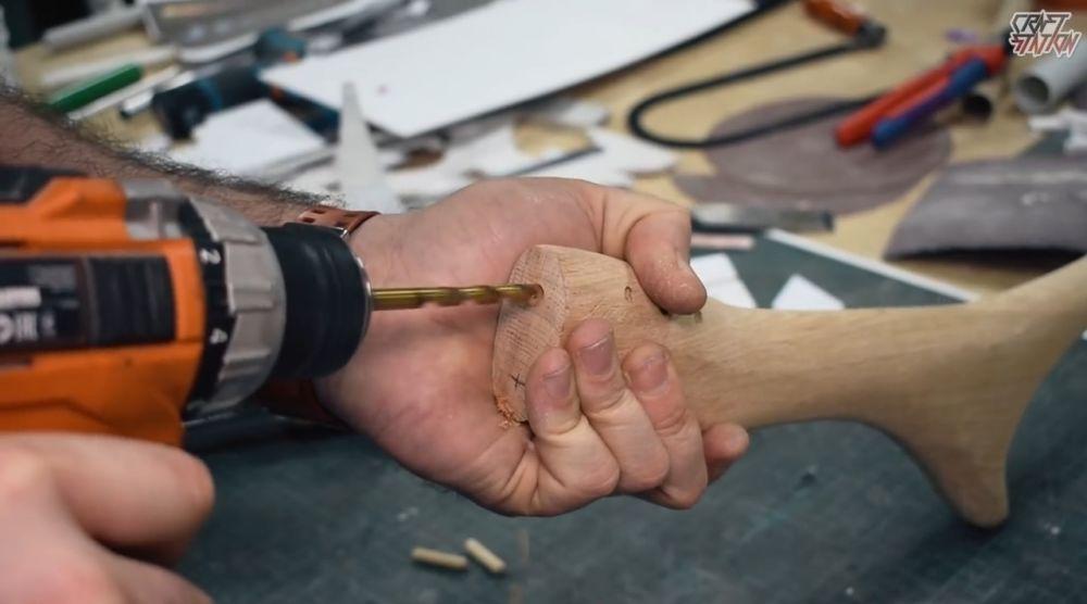 Процесс изготовления винтовки мондалорца шаг 47