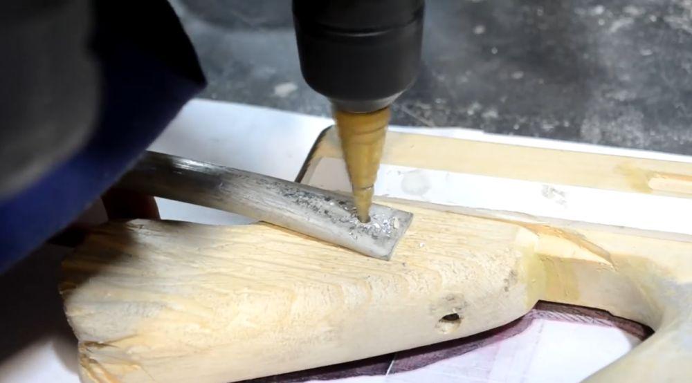 Сверление алюминиевых труб