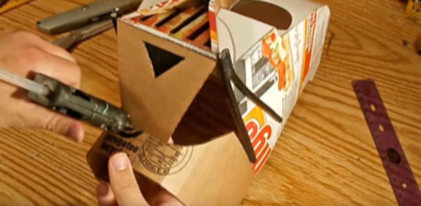 Процесс изготовления шлема дарта вейдера шаг 47