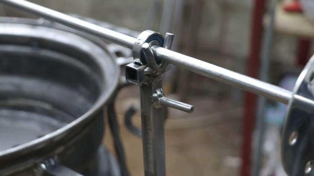 Процесс изготовления мангала гриля шаг 47