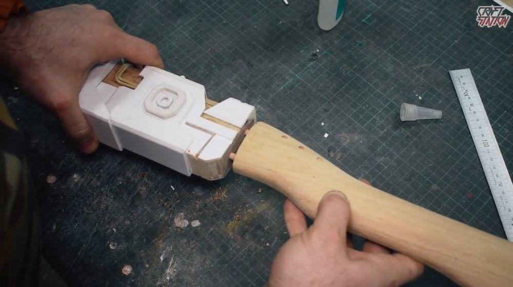 Процесс изготовления винтовки мондалорца шаг 49