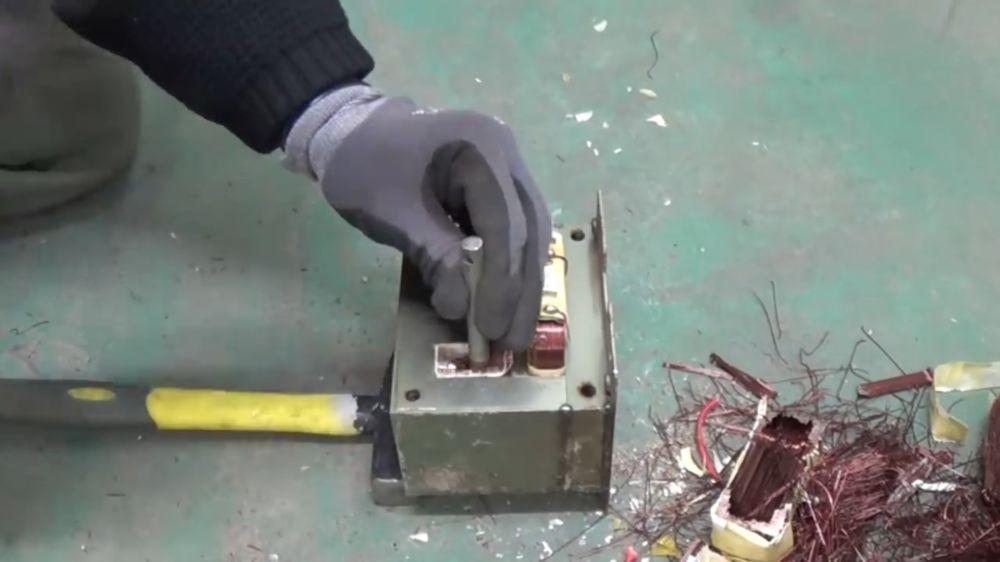 Процесс изготовления точечной сварки шаг 3