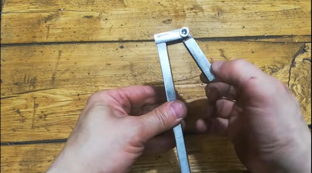 Процесс изготовления гриндера из болгарки шаг 5