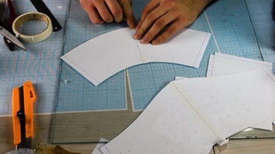 Процесс изготовления шлема рыцаря-крестоносца шаг 4