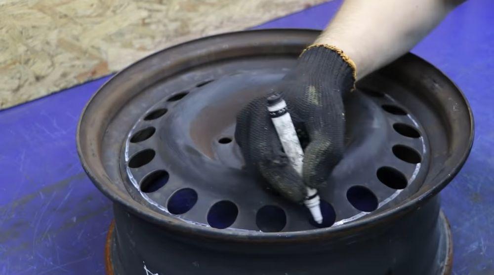Процесс изготовления мангала гриля шаг 5