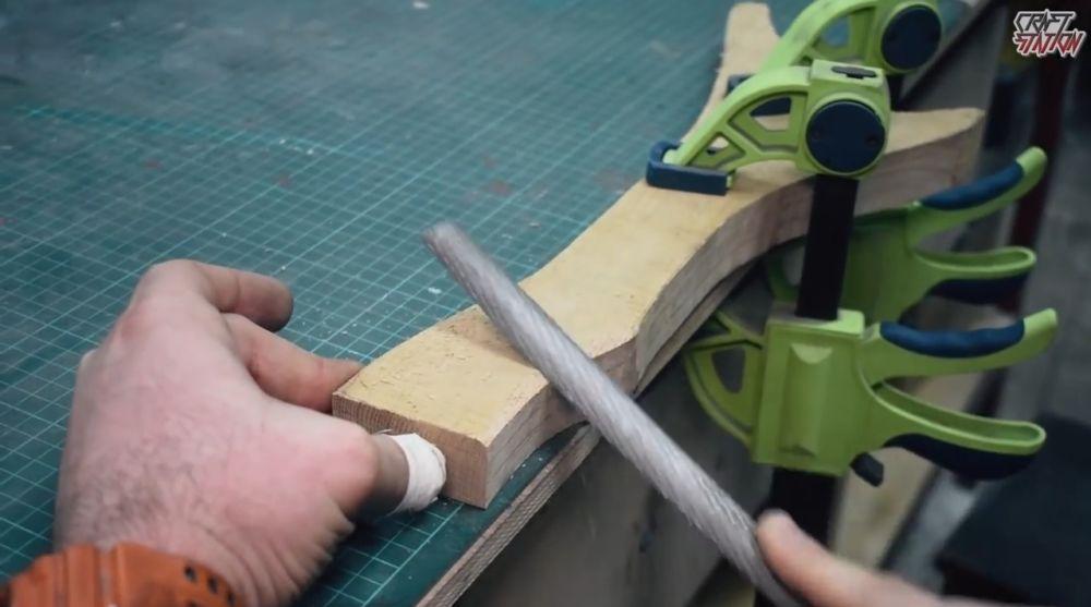 Процесс изготовления винтовки мондалорца шаг 5
