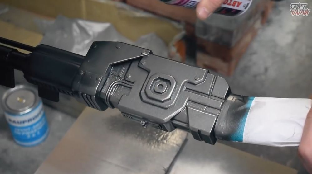 Процесс изготовления винтовки мондалорца шаг 51