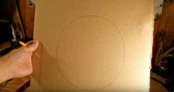 Процесс изготовления шлема дарта вейдера шаг 51