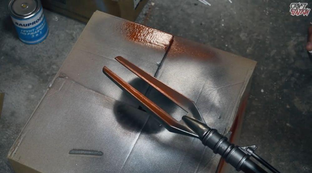Процесс изготовления винтовки мондалорца шаг 52